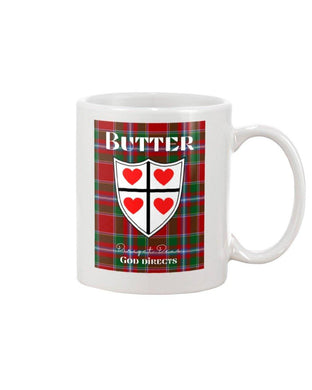 Clan Butter Scottish Tartan Mug