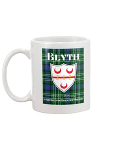 Clan Blyth Scottish Tartan Mug