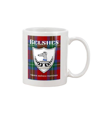 Clan Belshes Scottish Tartan Mug