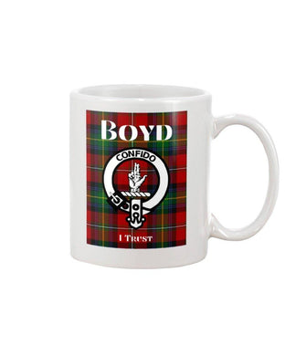 Clan Boyd Scottish Tartan Mug
