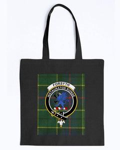 Clan Forsyth Scottish Tartan & Crest Tote