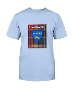 Clan MacGovern Scottish Tartan  Cotton T-Shirt