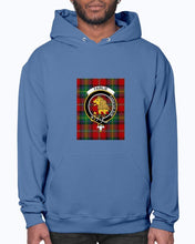 Load image into Gallery viewer, Clan Fairlie Tartan & Crest Hoodie