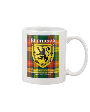 Clan Buchanan Scottish Tartan Mug