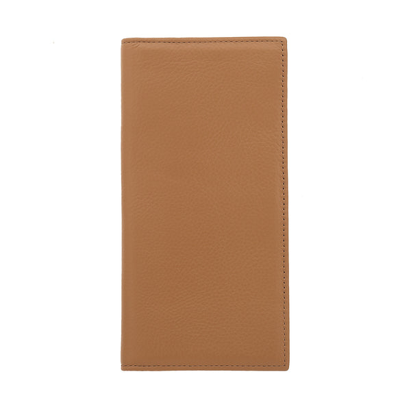 Bifold Leather Wallet Camello