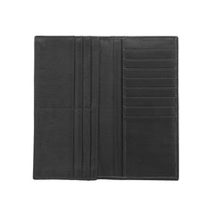Bifold Leather Wallet Black