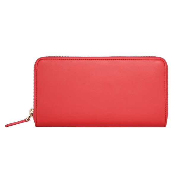 Zip Wallet | Smooth Lollipop Red
