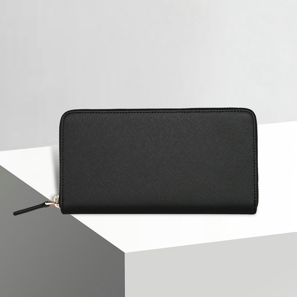 Zip Wallet | Forest Black