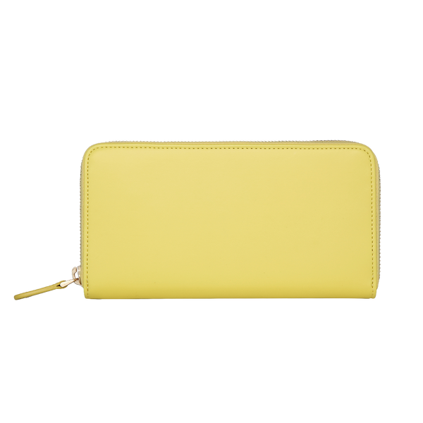 Zip Wallet | Smooth Canary Yellow