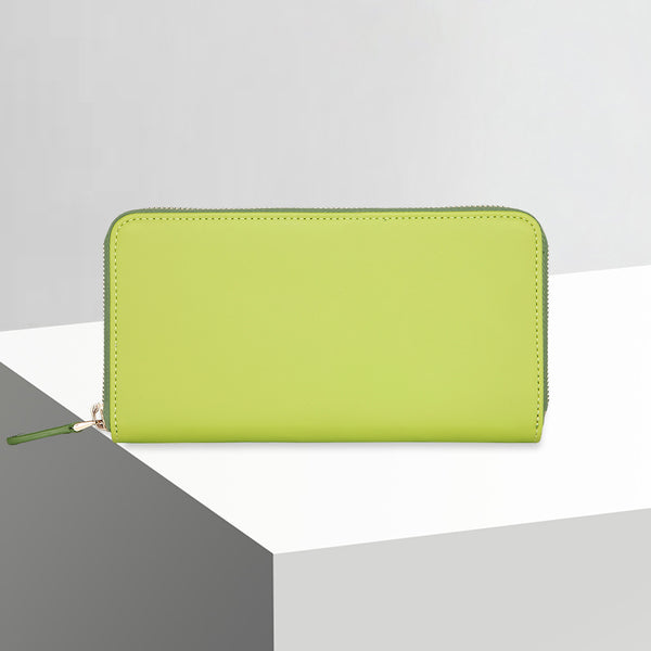 Zip Wallet | Lime Green