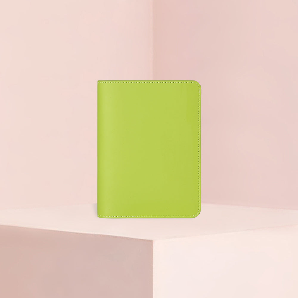 Passport Case | Smooth Lime Green