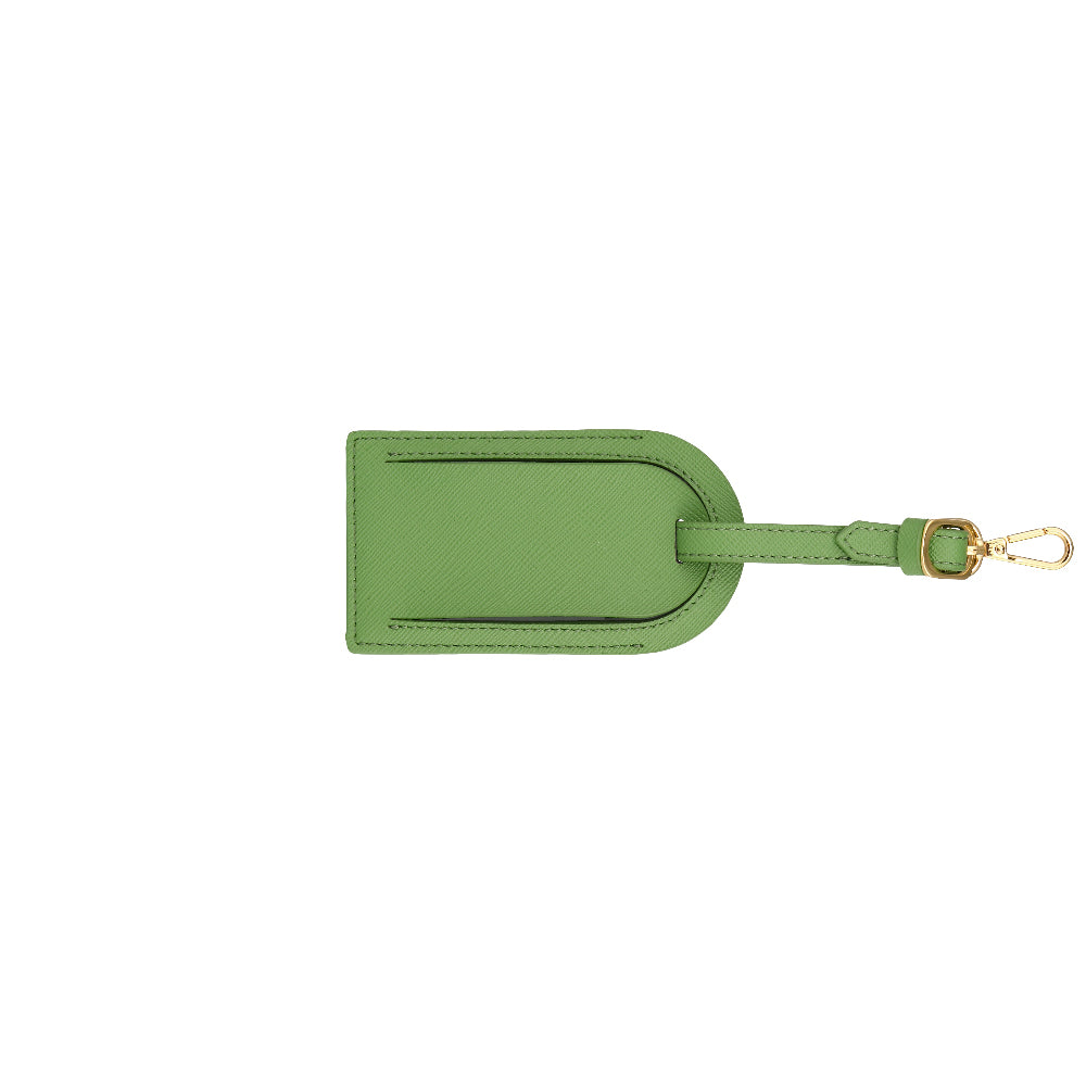 Custom Luggage Tag - Green