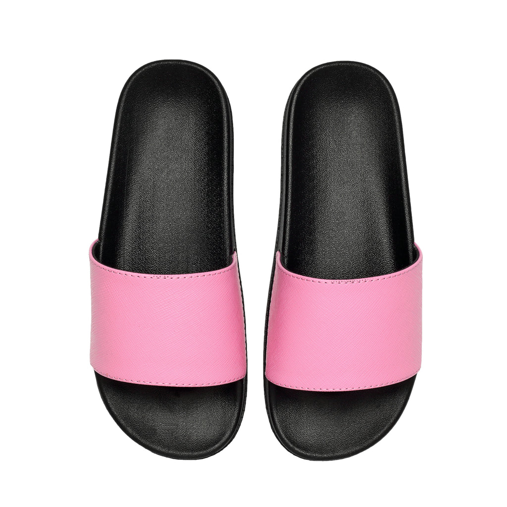 MAC&LOU Leather Slide Pink