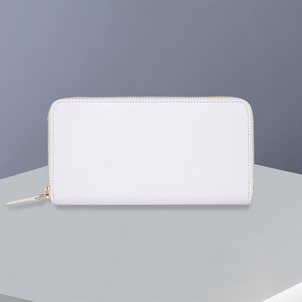 Zip Wallet | Smooth Snow White