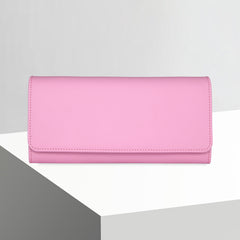 Bifold Wallet | Smooth Bubblegum Pink