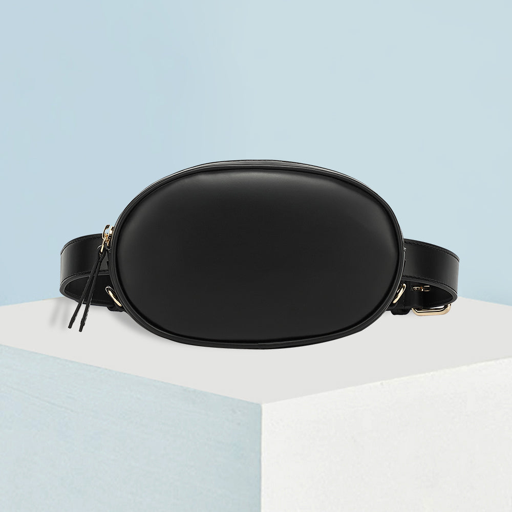 Waist Bag | Smooth Forest Black