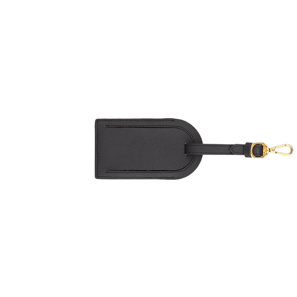 Custom Luggage Tag - Black