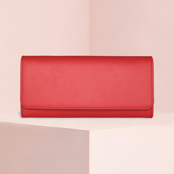 Bifold Wallet | Smooth Lollipop Red