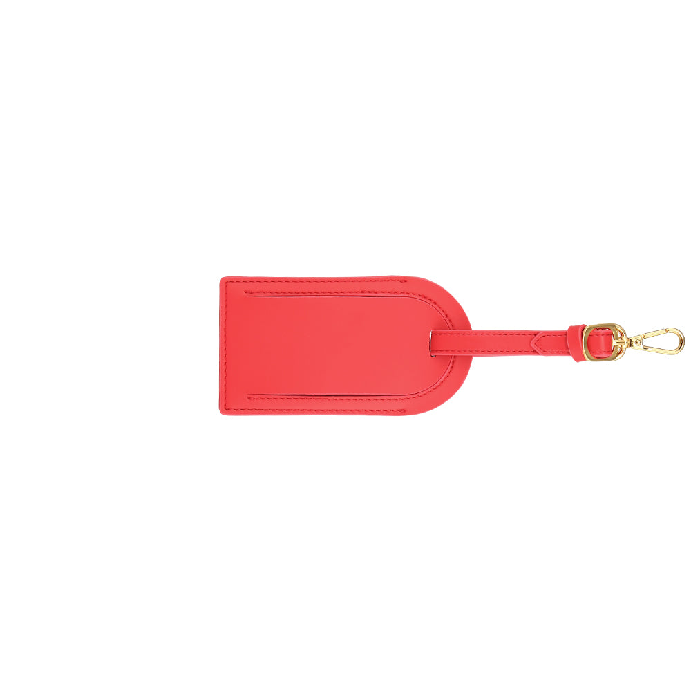 Custom Luggage Tag - Red
