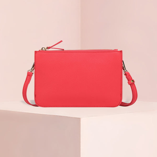 Crossbody Bag | Lollipop Red