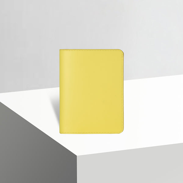 Passport Case | Smooth Canary Yellow