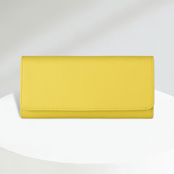 Bifold Wallet | Canary Yellow
