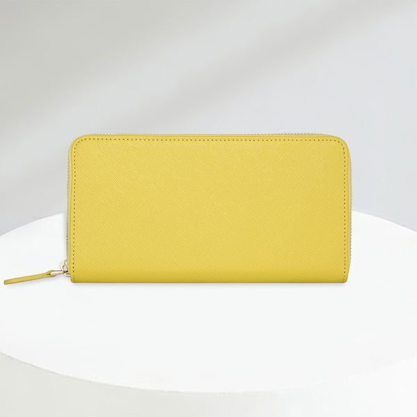 Zip Wallet | Canary Yellow