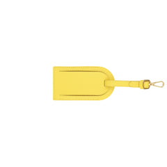 Custom Luggage Tag - Yellow