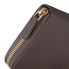 Zip Wallet | Pale Brown