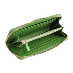 Zip Wallet | Apple Green