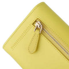 Bifold Wallet | Smooth Canary Yellow