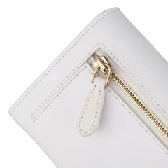 Bifold Wallet | Smooth Snow White