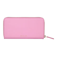 Zip Wallet | Smooth Bubblegum Pink