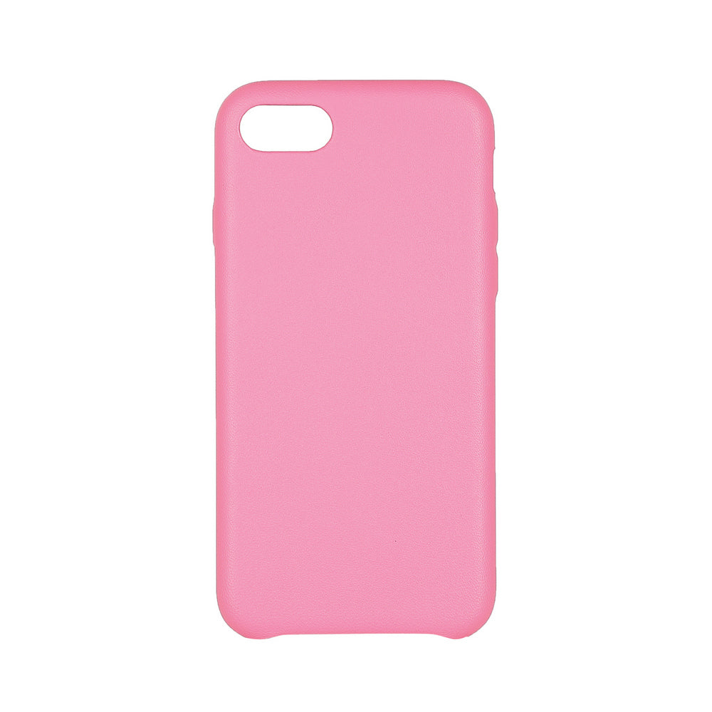 MAC&LOU Luxury iPhone 7/8 Case Calfskin Leather - Pink
