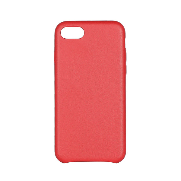MAC&LOU Luxury iPhone 7/8 Case Calfskin Leather - Red