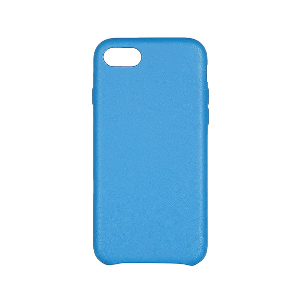 MAC&LOU Luxury iPhone 7/8 Case Calfskin Leather - Blue