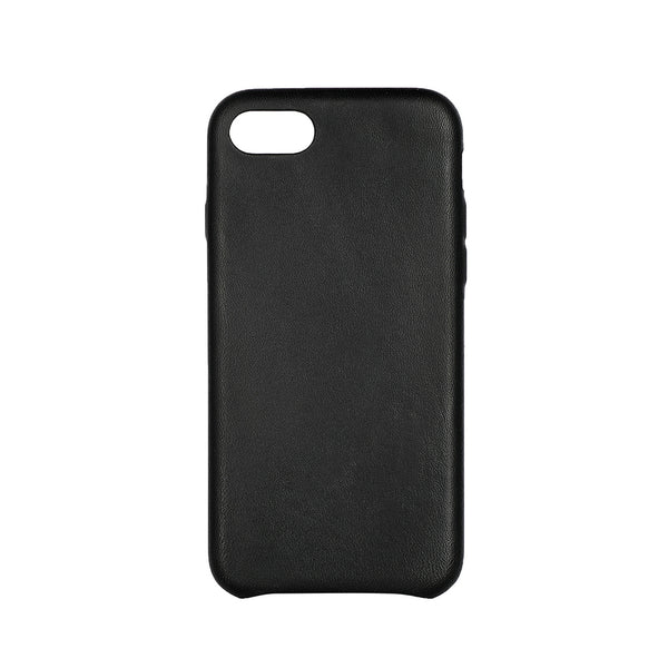 MAC&LOU Luxury iPhone 7/8 Case Calfskin Leather - Black
