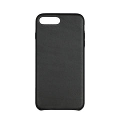 MAC&LOU Luxury iPhone 7/8 Plus Case Calfskin Leather - Black