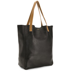 The Perfect Leather Tote Alpha Black/Camello