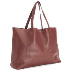 The Perfect Leather Tote 'Omega' Burgundy