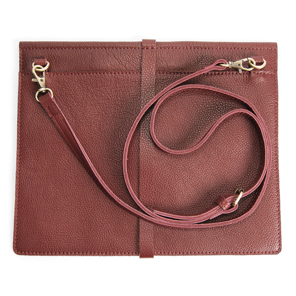 Crossbody Bag 'BFF' Burgundy