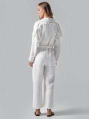Milie White Jumpsuit