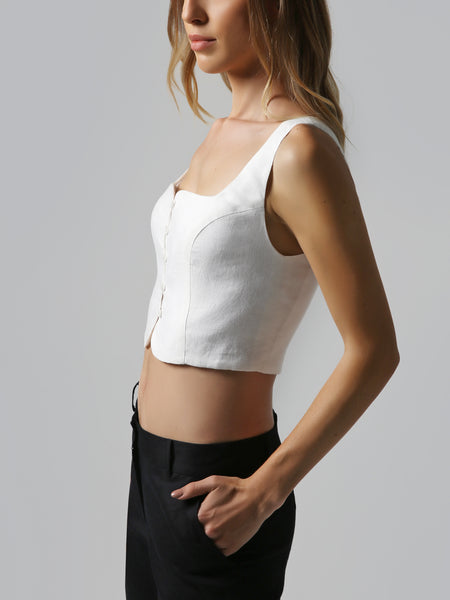 Straight Crop Top