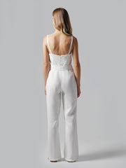 Lighty White Jumpsuit