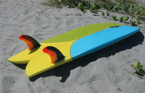 FCS II Mark Richards Twin + Stabilizer Fins