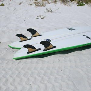 Futures Rasta Quad Fin Set