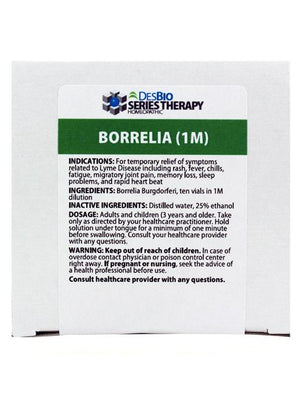 Borrelia Series Symptom Relief: Series Kit 1M - DesBio - Chronic Lyme Treatments