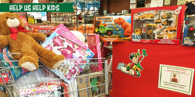 Toy Drive: Help Us Help Kids