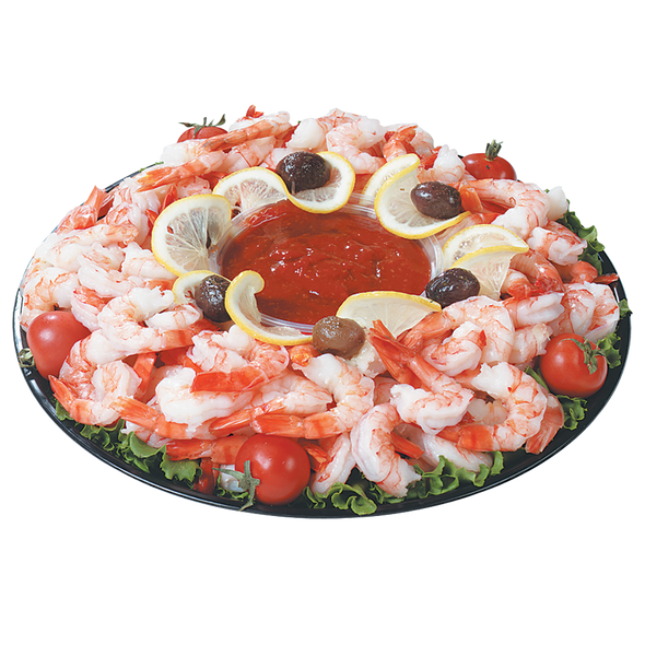 Large Cooked Shrimp Platter