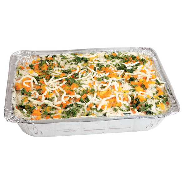 Vegetable Lasagna and White Sauce